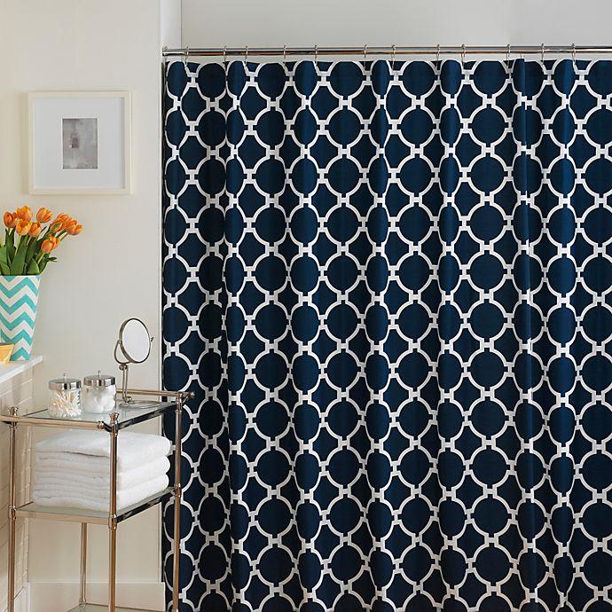 Alternate image 1 for Jill Rosenwald Hampton Links Shower Curtain