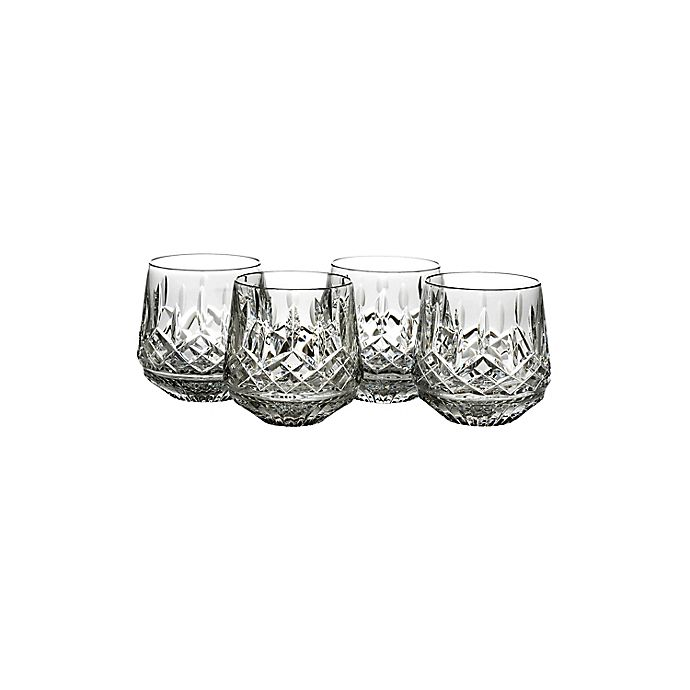 Alternate image 1 for Waterford® Lismore Double Old Fashioned Glasses (Set of 4)