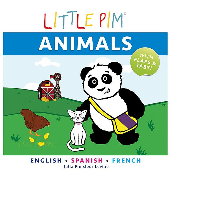 Alternate image 1 for Little Pim®: Animals by Julia Pimsleur Levine
