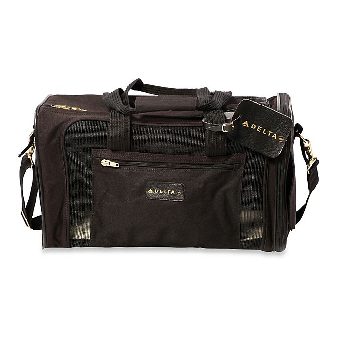 457df605c9 Sherpa Delta Medium Pet Carrier in Black | Bed Bath & Beyond