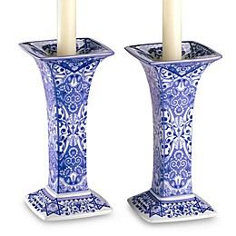 Spode® Judaica Sabbath 7.5-Inch Candlesticks (Set of 2)