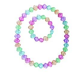 Tiny Treasures 2-Piece Shells Necklace and Bracelet Set
