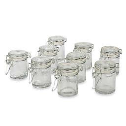 Ivy Lane Design Fillable Mini Glass Jelly Jar Favor Pack (Set of 9)