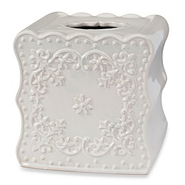 Creative Bath™ Ruffles Boutique Tissue Box Cover