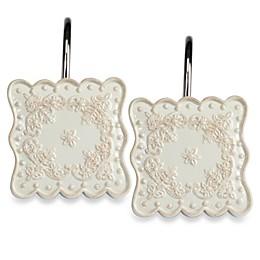Creative Bath™ Ruffles Shower Curtain Hooks (Set of 12)