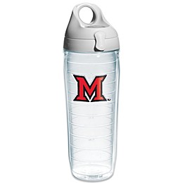 Tervis® Miami University of Ohio Redhawks Emblem 24 oz. Water Bottle with Lid