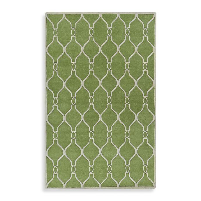 Alternate image 1 for Jill Rosenwald® Zuna Rug in Green