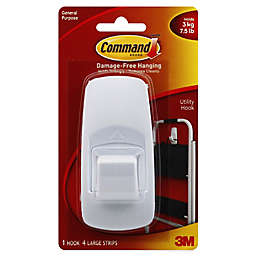 3M Command™ Jumbo Hook in White