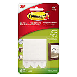 3M Command™ 3-Pack Medium Picture Hanging Strips