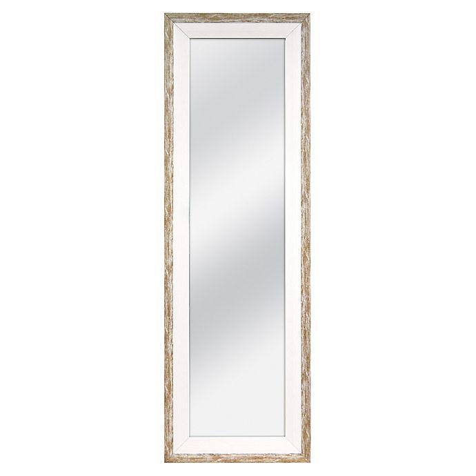 Alternate image 1 for MCS Industries® 53.15-Inch x 17.5-Inch Over-The-Door Rectangular Hanging Mirror