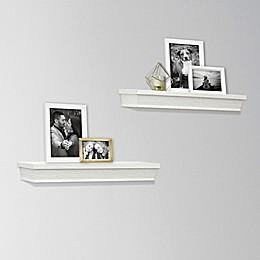 SALT™ 2-Piece Rustic Wood Shelf Set