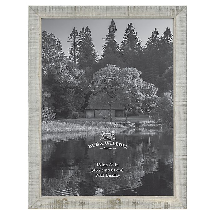 Alternate image 1 for Bee & Willow™ Home 18-Inch x 24-Inch Wooden Picture Frame In Austin Grey