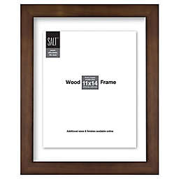 SALT™ Gallery 11-Inch x 14-Inch Floating Picture Frame in Walnut