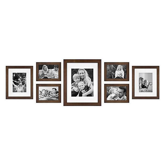 Alternate image 1 for SALT™ 7-Piece Gallery Picture Frame Set