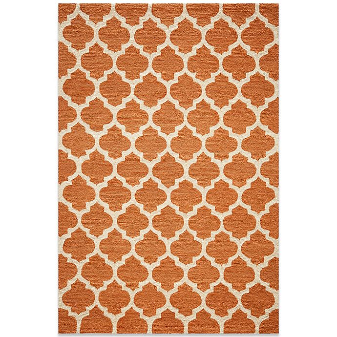 Alternate image 1 for Momeni Geo Rug in Pumpkin