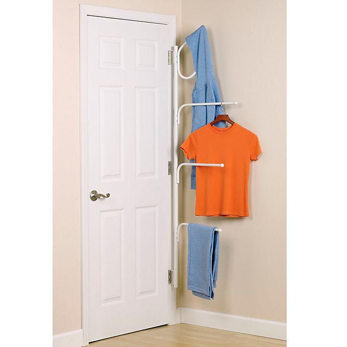 Alternate image 1 for Household Essentials® Clutterbuster™ Valet Hanger and Towel Bar