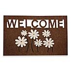 Welcome Daisy Door Mat