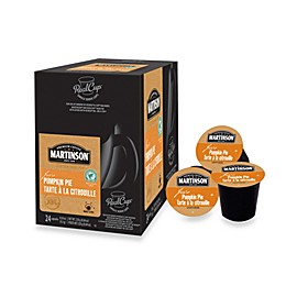 Martinson® Joe's Pumpkin Pie RealCup™ Coffee Pods for Single Serve Coffee Makers 24-Count