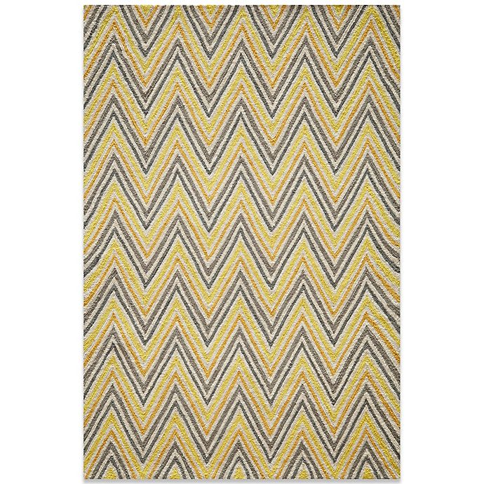Alternate image 1 for Momeni Geo 7-Foot 6-Inch x 9-Foot 6-Inch Rug in Gold