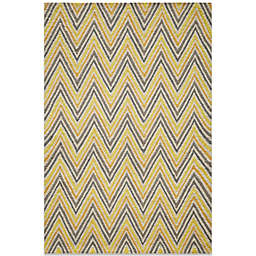 Momeni Geo 2-Foot x 3-Foot Rug in Gold