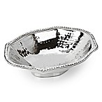 Classic Touch Stainless Steel Octagonal Candy Dish