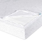QuickZip® Crib Sheet System in Grey Dot