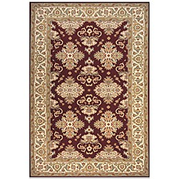 Momeni Persian Garden Rug in Burgundy
