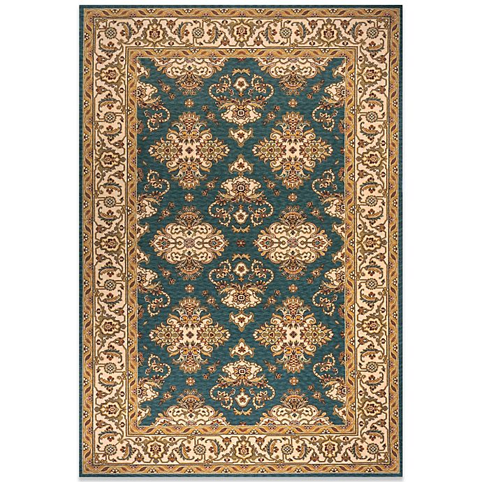 Buy Momeni Persian Garden Teal Blue Rug From Bed Bath & Beyond