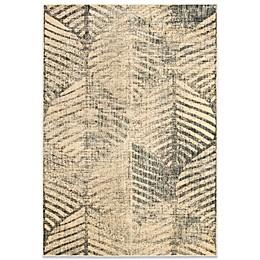 Safavieh Vintage Palm Area Rug in Cream/Multi