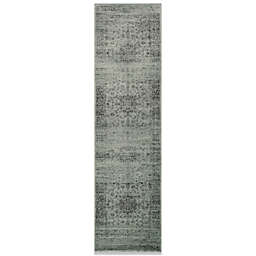 """Safavieh Palace 2'2"""" x 12' Accent Rug in Spruce and Ivory"""