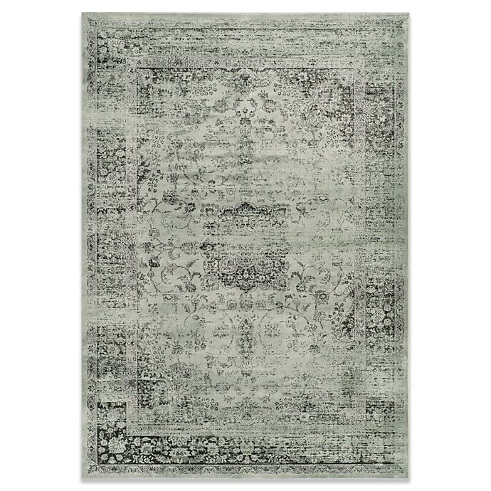 Alternate image 1 for Safavieh Palace Accent Rug in Spruce and Ivory