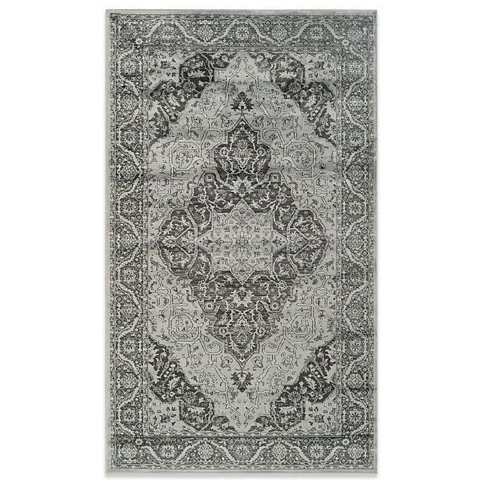 Alternate image 1 for Safavieh Vintage Kiana Accent Rug in Light Blue/Grey