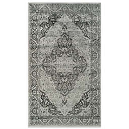 Safavieh Vintage Kiana 6-Foot 7-Inch x 9-Foot 2-Inch Accent Rug in Light Blue/Grey