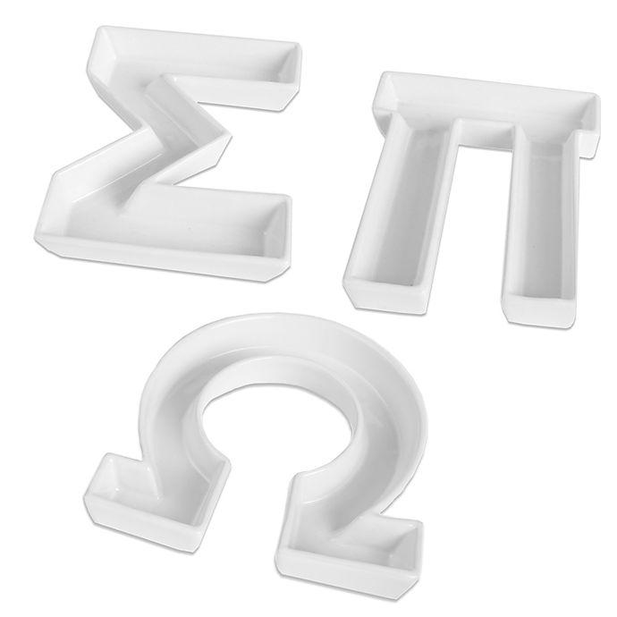 Alternate image 1 for Ivy Lane Design™ Greek Letter Candy Dish