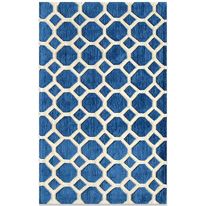 Bed Bath And Beyond Area Rugs Roselawnlutheran Earth Tone: Momeni Bliss Rugs In Navy