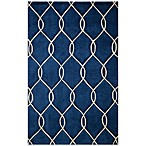 Momeni Bliss 5-Foot x 7-Foot 6-Inch Rug in Navy