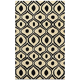 Momeni Bliss 8-Foot x 10-Foot Rug in Black