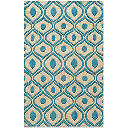 Momeni Bliss 3-Foot 6-Inch x 5-Foot 6-Inch Rug in Blue