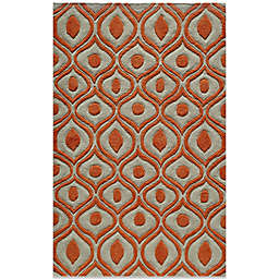 Momeni Bliss Rugs in Orange