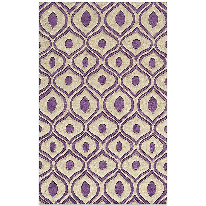 Alternate image 1 for Momeni Bliss Rugs in Purple