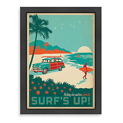 Americanflat CC Surf's Up! Framed Wall Art