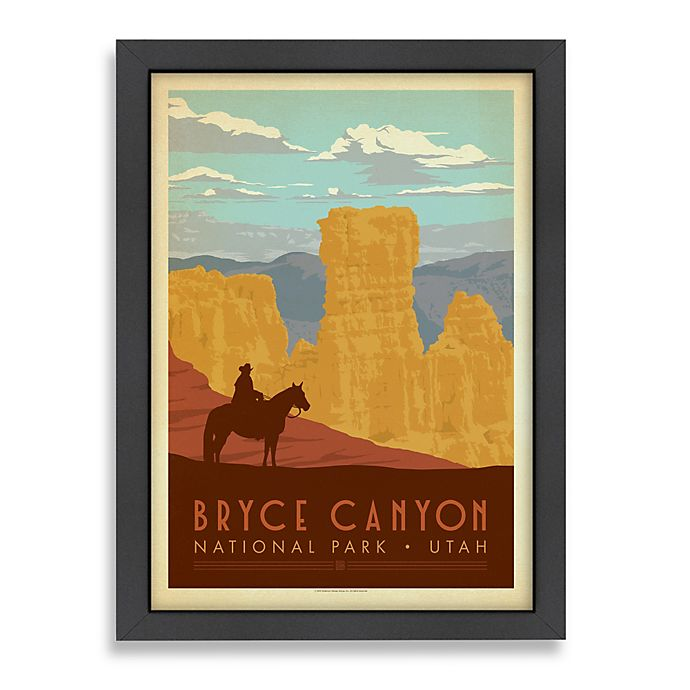 Alternate image 1 for Americanflat Bryce Canyon National Park Framed Wall Art
