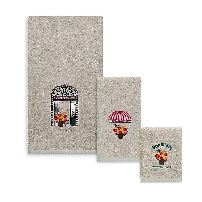 Alternate image 1 for Creative Bath™ Rue Di Rivoli Resin Fingertip Towel