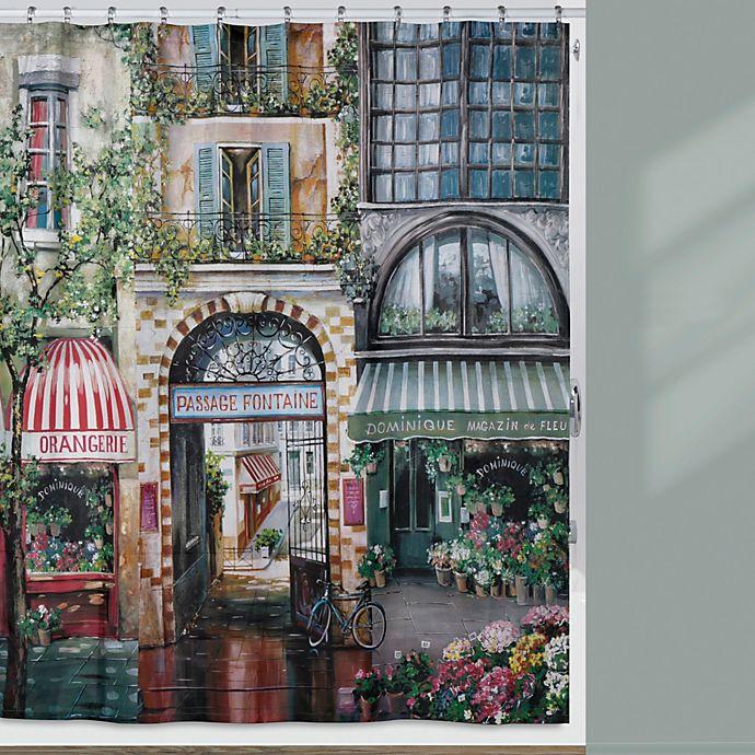 Alternate image 1 for Creative Bath™ Rue Di Rivoli Resin 72-Inch x 72-Inch Shower Curtain