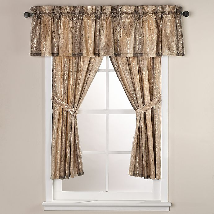 Alternate image 1 for Sheer Bliss 45-Inch Bath Window Curtain Panel Pair