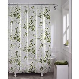 Zen Garden PEVA 70-Inch x 72-Inch Shower Curtain