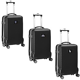 MLB 20-Inch Hardside Carry On Spinner in Black