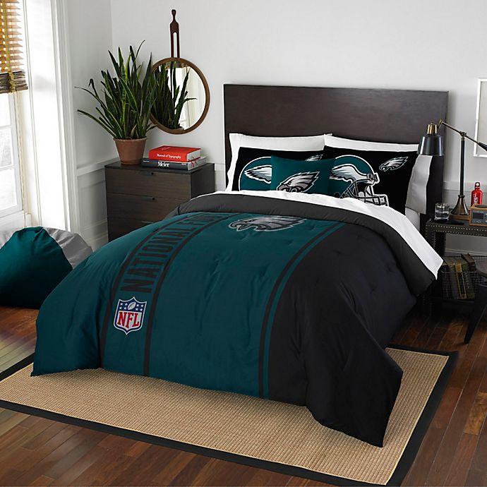NFL Philadelphia Eagles Embroidered Comforter Set | Bed Bath ...