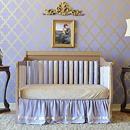 Go Mama Go Designs® Crib Bedding Collection in Lavender & Latte
