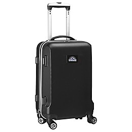 MLB Colorado Rockies 20-Inch Hardside Carry On Spinner in Black